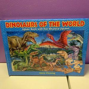 Dinosaur Puzzle Book